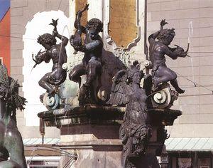 Augustus Fountain (detail)