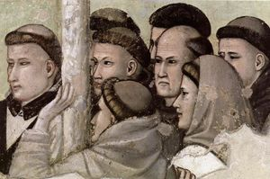 Scenes from the Life of Saint Francis: 7. Vision of the Ascension of St Francis (detail)