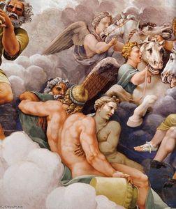 Vault: The Assembly of Gods around Jupiter's Throne (detail)