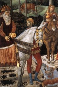 Procession of the Oldest King (detail)