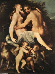 Adonis Parting from Venus