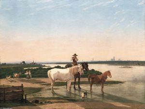Isar Landscape near Munich