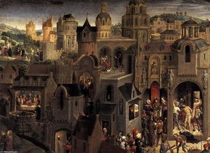 Scenes from the Passion of Christ (detail)