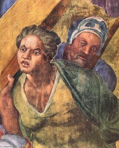 Martyrdom of St Peter (detail)