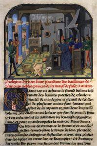 L'Histoire de Charles Martel, vol. 3 (Ms. 8, fol 7r)