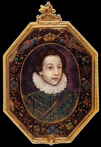 Portrait of the Young Louis XIII