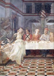Herod's Banquet (detail)