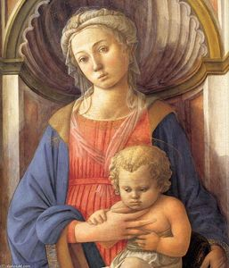Madonna and Child (detail)