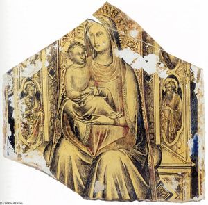 Virgin and Child Enthroned with Sts John the Baptist and John the Evangelist
