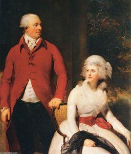 Mr and Mrs John Julius Angerstein (detail)