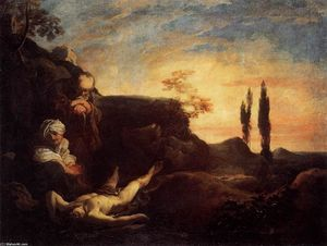 Adam and Eve Mourning for Abel