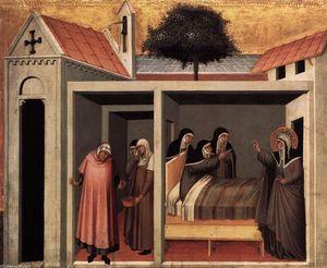 Beata Umiltà Heals a Sick Nun