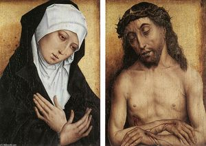 Virgin and the Man of Sorrow