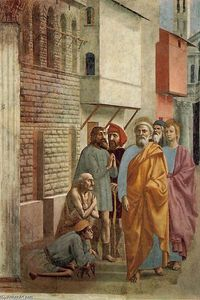 St Peter Healing the Sick with his Shadow