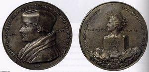 Portrait Medal of Erasmus