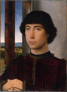 Portrait of a Man at a Loggia