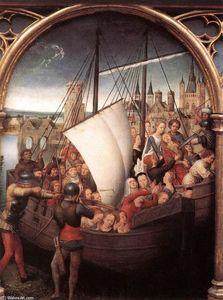 St Ursula Shrine: Martyrdom (scene 5)