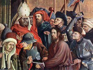 Christus before Pilate (detail)