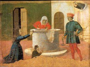 Polyptych of St Anthony: St Elizabeth Saves a Boy