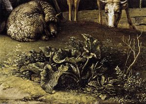 A Husbandman with His Herd (detail)