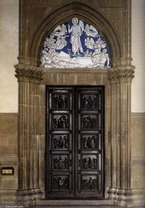 North Sacristy Doors with the Resurrection