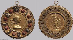 Portrait Medal of Isabella d'Este