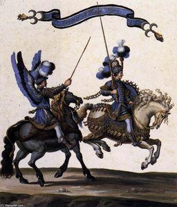 Grand Cavalcade Given in Paris in 1662