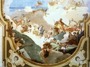 The Apotheosis of the Pisani Family (detail)
