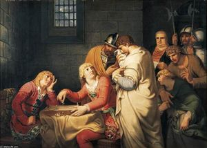 Conradin of Swabia and Frederick of Baden Being Informed of Their Execution in Prison in Naples