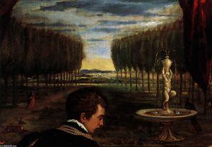 Venus with Organist and Cupid (detail)