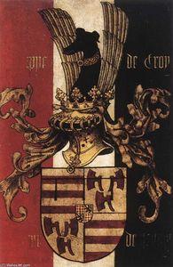 Portrait Diptych of Philippe de Croy (reverse side)