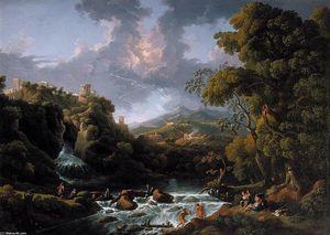 A Scene in the Roman Campagna