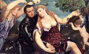 Alegoría con Los amantes