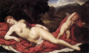 Sleeping Venus with Cupid