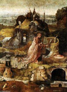 Hermit Saints Triptych (central panel)