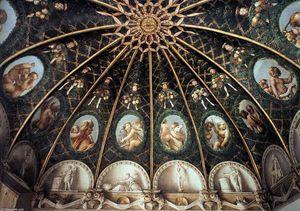 Ceiling decoration (partial view)