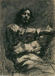 Seated Young Man