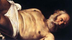 le crucifixion des saint pierre détail