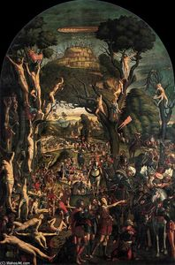 Crucifixion and Apotheosis of the Ten Thousand Martyrs