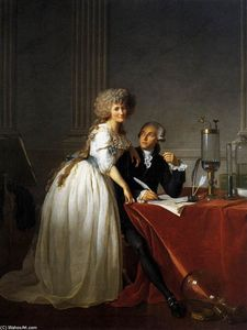 Portrait of Antoine-Laurent and Marie-Anne Lavoisier