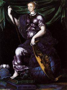 Marguerite de France as Minerva