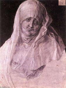 Agnes Dürer als st. anna