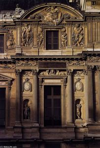 Façade of the Louvre (detail)