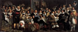 Celebration of the Peace of Münster, 1648, at the Crossbowmen's Headquarters