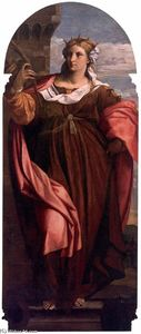 Polyptych of St Barbara (central panel)
