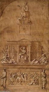 Design for the funerary monument of Francesco Gonzaga