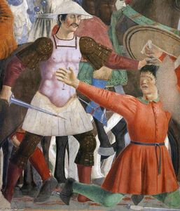 8. Battle between Heraclius and Chosroes (detail) (26)