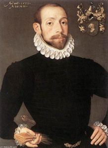 Portrait of Olivier van Nieulant