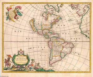 Novissima et Accuratissima Totius Americae Descriptio
