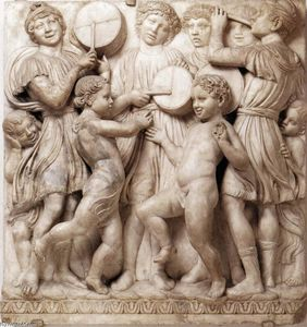 Cantoria: fourth top relief